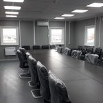 Модульное двухэтажное здание зал совещаний